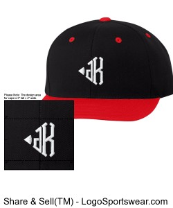 Hellaven Johnny Kain Snapback Design Zoom