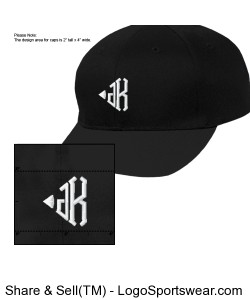 Adult Six-Panel Cotton Twill Low-Profile Cap Design Zoom