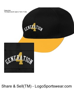 444 Generation Snapback Design Zoom